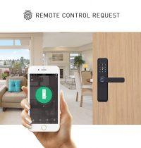 Smart Door Lock Single Latch