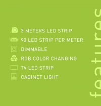 Smart LED Strip features