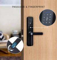 Smart Door Lock Single latch Features