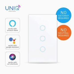 Smart Switch Wi-Fi Touch-3gang