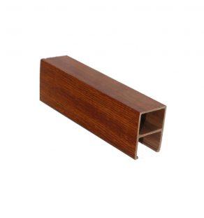 50 x 60 Eco-Wood Baffle Ceiling (Dark)