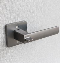 Door Locket Square – Gunpowder metal 1 (1)