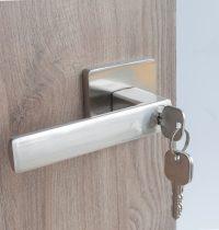 Door Locket Square – Silver (3)