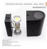Outdoor LED Wall Sconces _ Wall Light-2